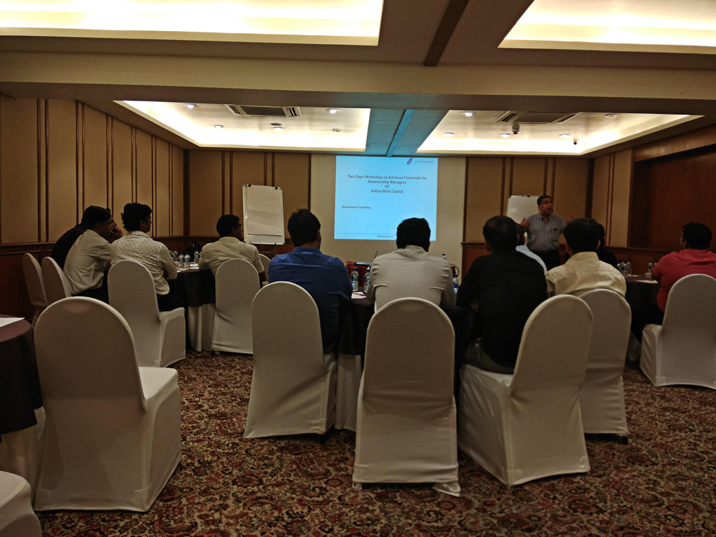Workshop on Advanced Financials for Relationship Manager of Mortgage team