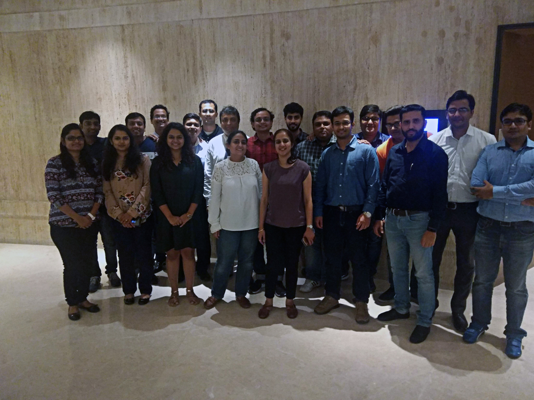 Workshop on Early Warning Signals using Data Analytics for SME Credit Risk team