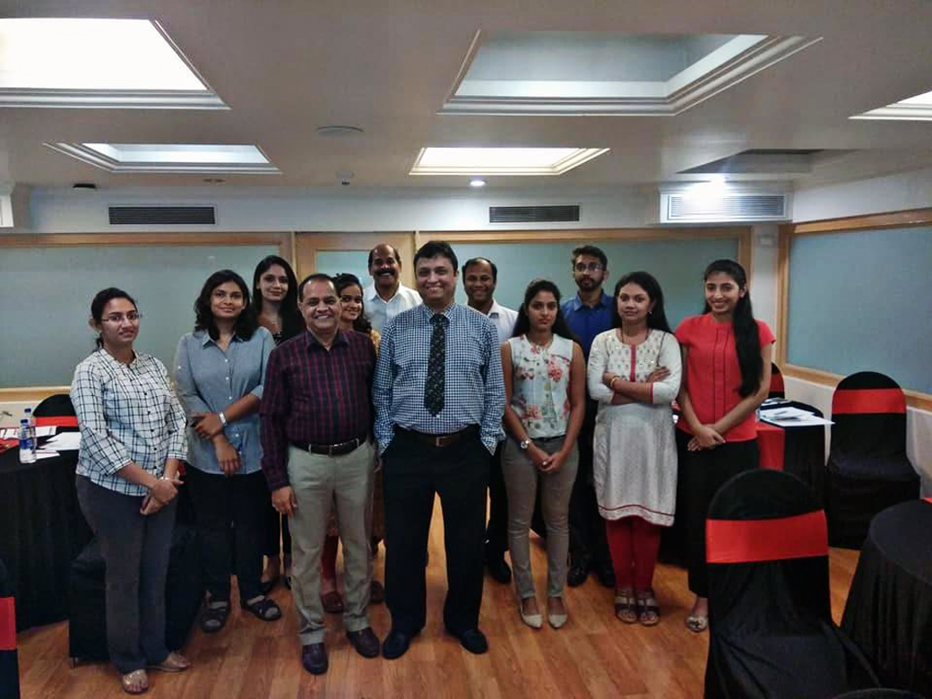 Anti Money Laundering workshop conducted by Prof. Praloy Majumdar was attended by various leading private sector bankers