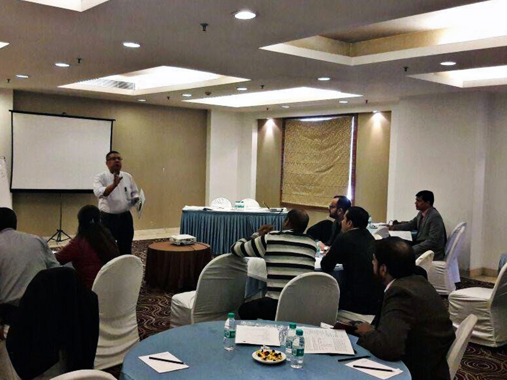 Disseminare Consulting trained more than 450 Bankers from one of the leading private sector banks in India. The workshop was conducted on Advanced Credit Risk