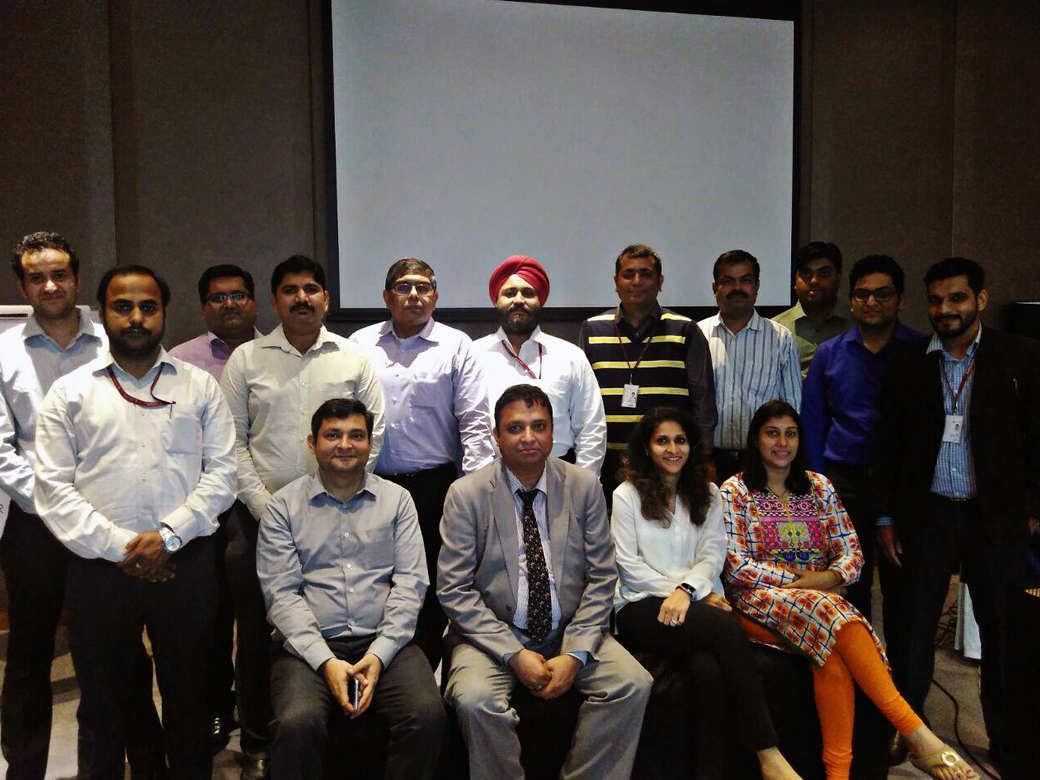 Early Warning Signal workshop for SME team at Axis Bank